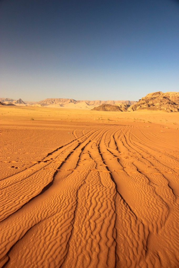Wadi Rum Desert, Jordan ทะเลทราย วาดีรัม จอร์แดน